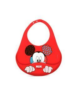 Babador NUK Disney By Britto 100% Silicone - Neutral