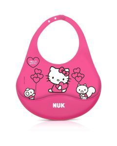 Babador NUK Hello Kitty Silicone - Girl