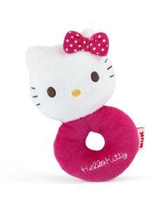 Chocalho Pelúcia NUK Hello Kitty
