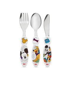 Talheres de Inox NUK Disney By Britto