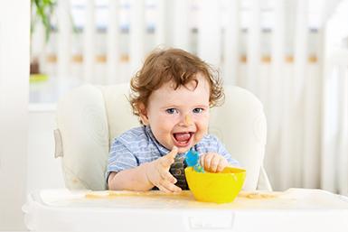 Rotina alimentar da criança de 1 ano