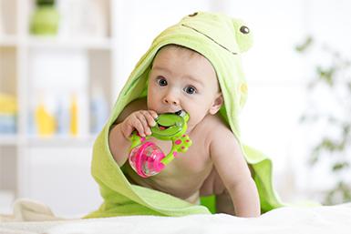 Higiene brinquedos bebê