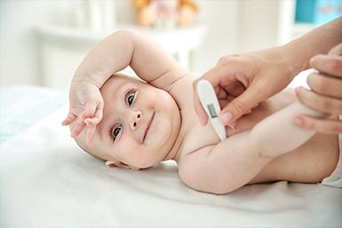 Temperatura do bebê